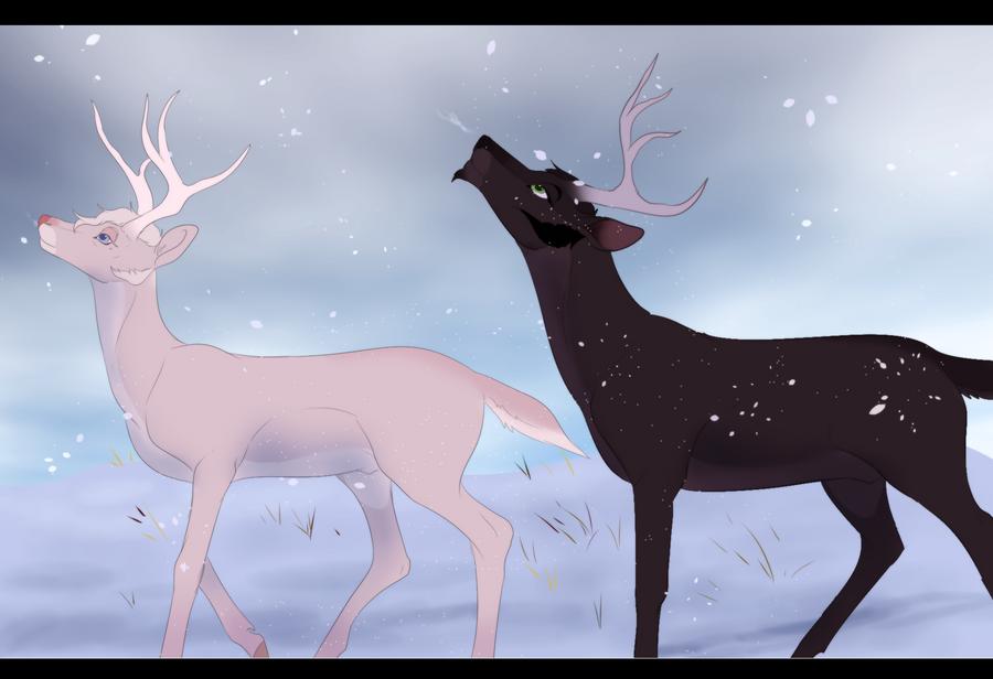 Snow by Whitelupine