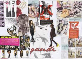 Fashion scrap paper 1
