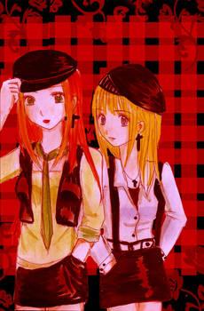 Karen and Claire
