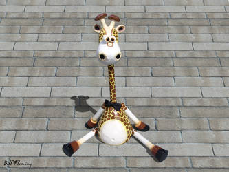 Alex's Giraffe by KomodoEmpire