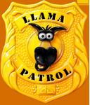 Llama Badge PNG
