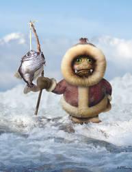 Frost Goblin by KomodoEmpire