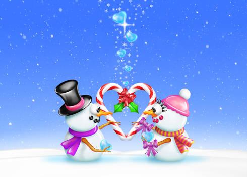 Snowman Romance