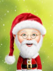 Whimsie Santa Claus