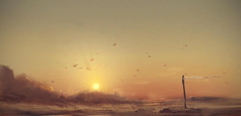 Sand storm - spitpaint by JeremyPaillotin