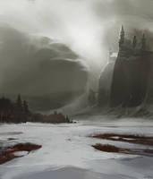 Across the ice fields