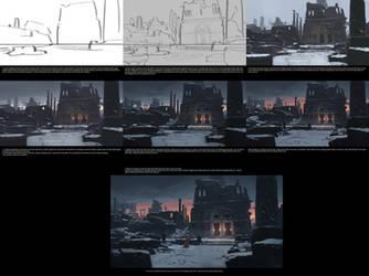 Labyrinth process by JeremyPaillotin
