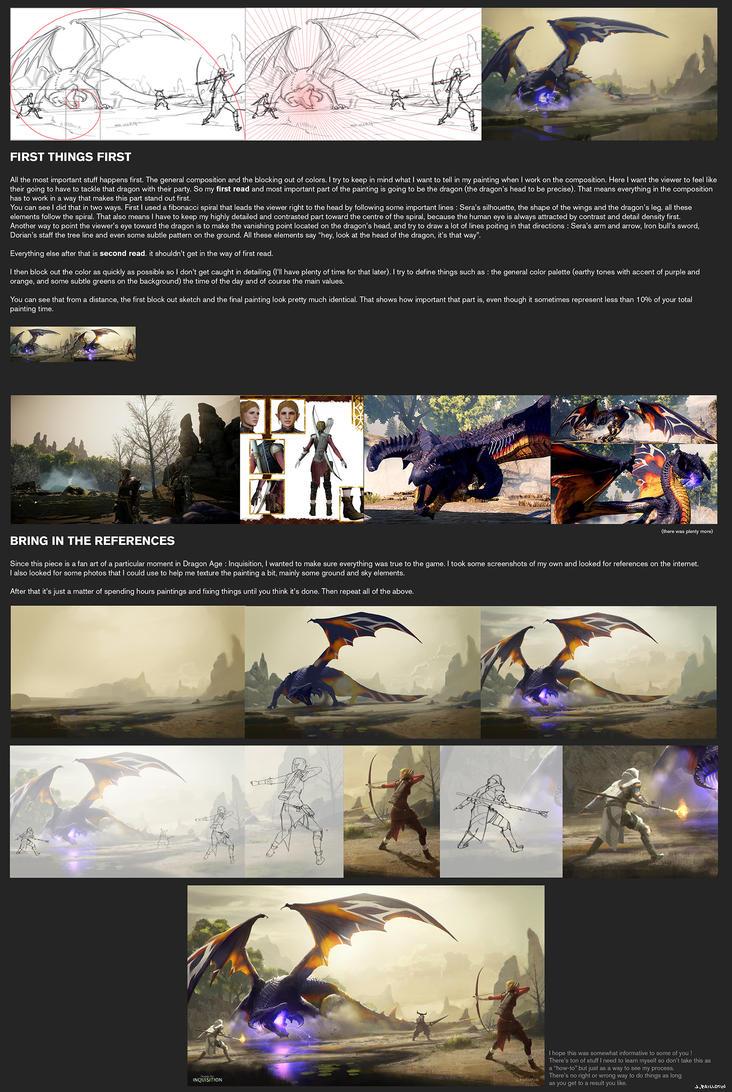 Gamoran Stormrider - Process by JeremyPaillotin