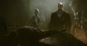 Ghost Recon Wildlands Trailer concept art