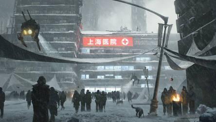 Sense Collective - Shanghai International Hospital by JeremyPaillotin