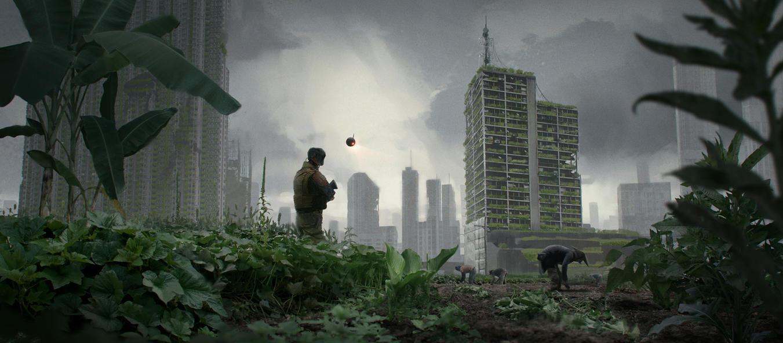 Sense Collective - Vertical farms by JeremyPaillotin