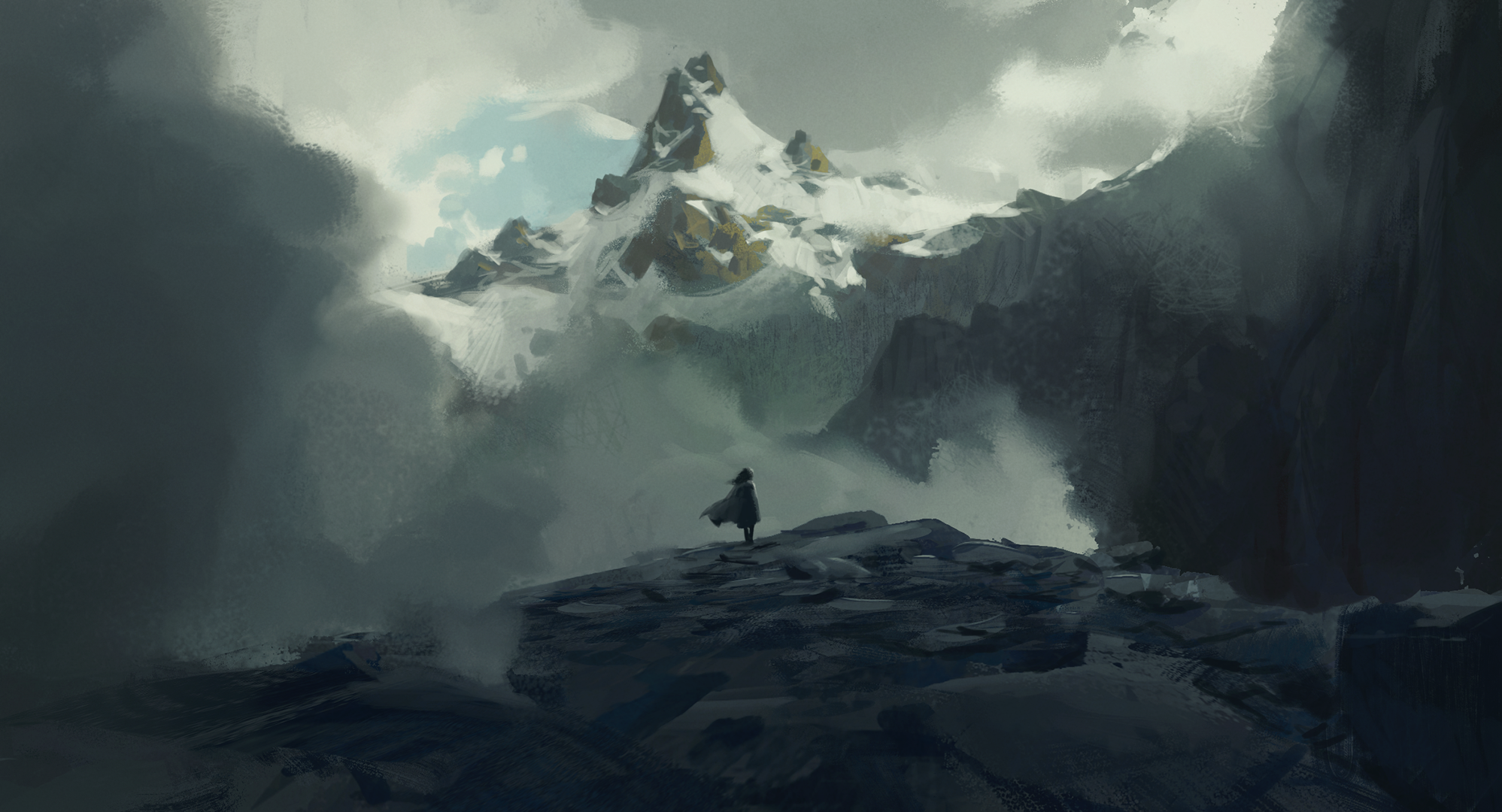 Some mountain again + Process video