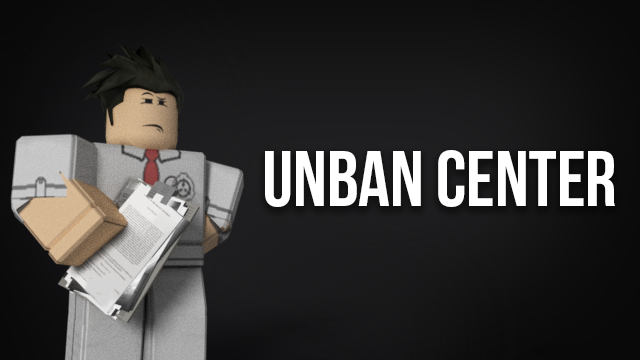 A Unbanned To All Roblox Roblox Gfx Unban Center By Akidwithapaintbrush On Deviantart