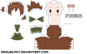 tyl Tsuna Papercraft by tsunyandere