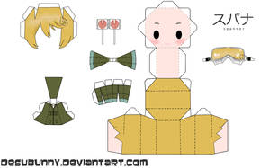 Spanner Papercraft by tsunyandere