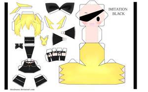 Imitation Black Len by tsunyandere