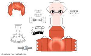 Reborn Shoichi Papercraft by tsunyandere