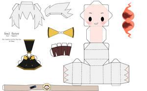 Soul Eater Soul Papercraft by tsunyandere
