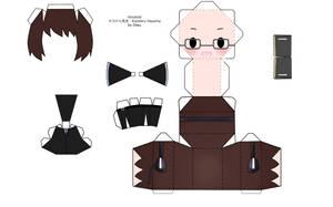 Vocaloid Kiyoteru Papercraft by tsunyandere
