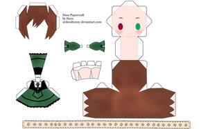Desu Papercraft by tsunyandere