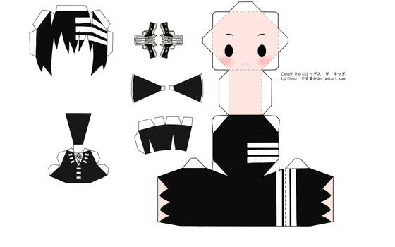 Death the Kid Papercraft
