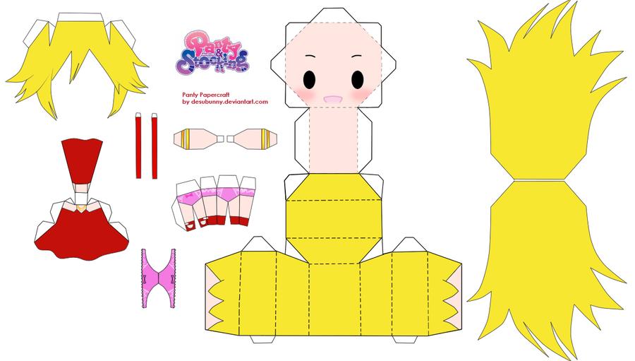 Panty Papercraft by tsunyandere