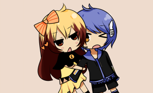 COM: Miki and Ham by tsunyandere