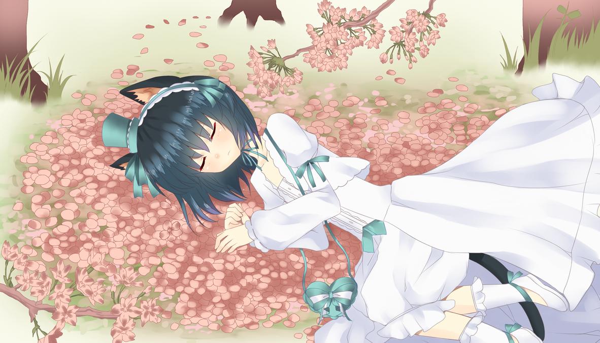 Cherry Blossom Dream by tsunyandere