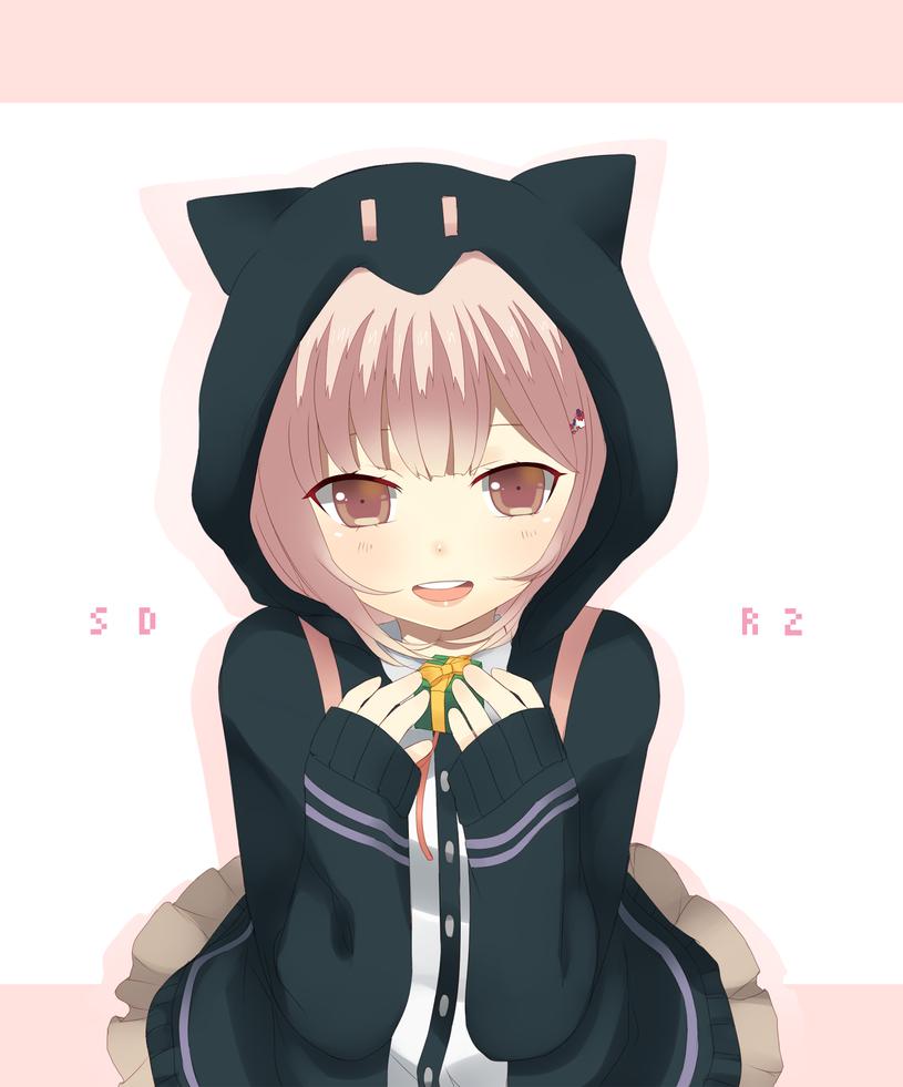 SDR2: Nanami Chiaki by tsunyandere