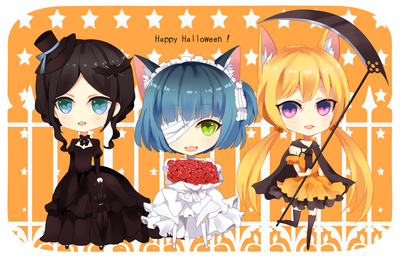 Happy Halloween by tsunyandere