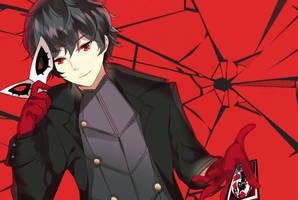 Persona 5 : Ren Amamiya by tsunyandere