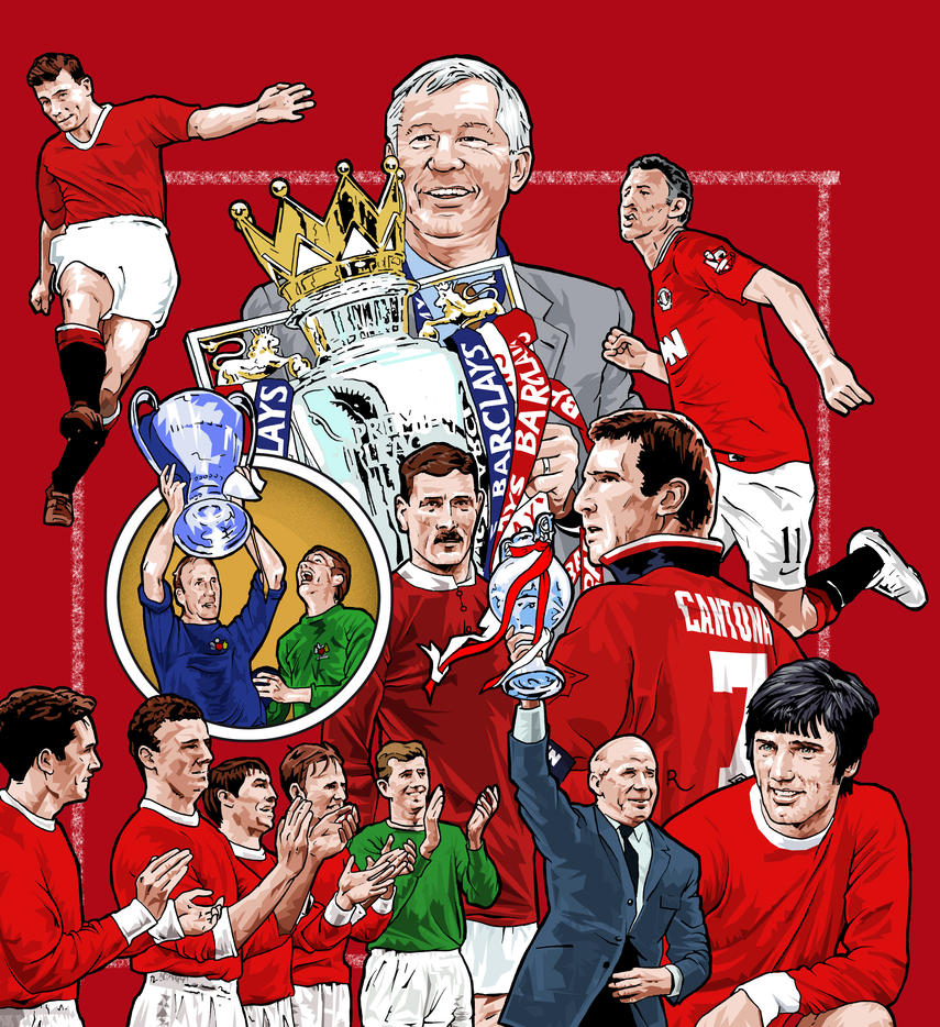 Manchester United Book Cover By Chegg69 On Deviantart
