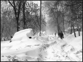 Snowdrifts by spirik