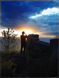 Tracing the setting sun by spirik