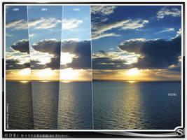 Setting sun HDRi Mastering