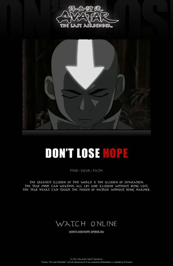 DON'T LOSE HOPE - ATLA-Clip by spirik