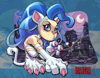 Little Darkstalker :: Felicia by Red-J