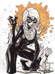 Black Cat :: Sketch 03