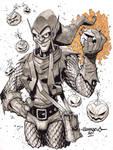 Green Goblin :: Sketch 04