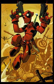Deadpool Junkyard Jump