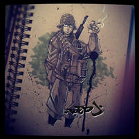 WW2 Soldier :: Copics practice by Red-J