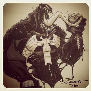Con sketch :: Venom :: Spidey is dead
