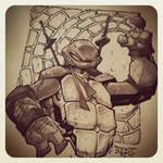 TMNT :: Leonardo Sketch