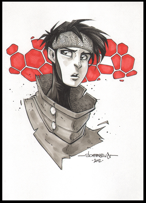 Wiccan :: OC3 Head Sketch 06 by Red-J