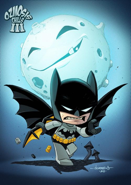 Lego Batman Chibi :: OC3 art by Red-J