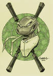 TMNT :: Mikey head sketch