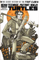 Casey Jones TMNT cover by Red-J