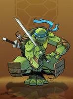 Leonardo TMNT by Red-J