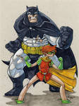 Dark Knight and Robin
