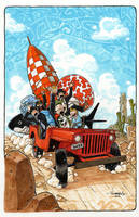 Tin Tin easter egg ride by Red-J
